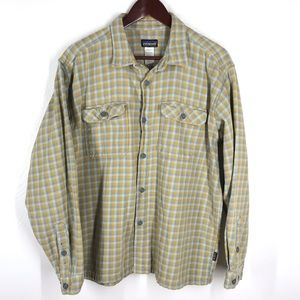 Patagonia Plaid Flannel Button Front Shirt XL